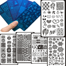 1 pc Nail Stamping Plates Art Manicure  Mandala Template Stamp Tools 6*12cm stainless Steel Image plate,1-032