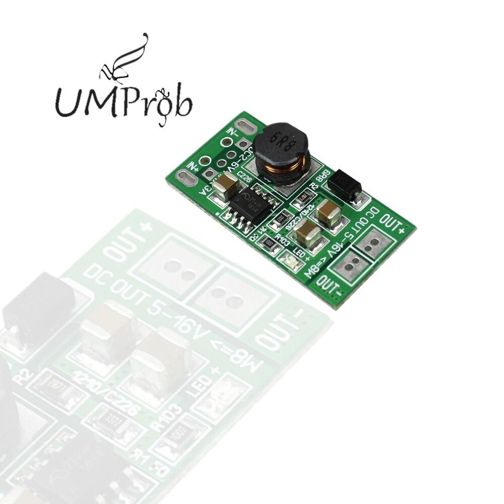 8W USB Eingang DC 5V bis 12V Step Up Converter Booster Netzteil Modul DC-DC Netzteil boost Modul