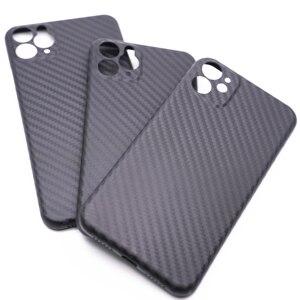 Image 2 - วัสดุPPโทรศัพท์มือถือสำหรับIPhone11 Pro Max All Inclusive X XS Max XRคาร์บอนไฟเบอร์เลนส์ป้องกัน
