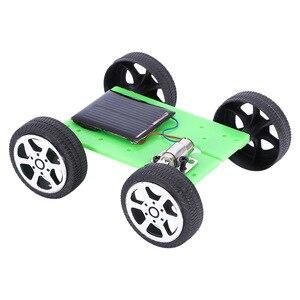 1 Set Mini Solar Car Toys for