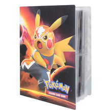 Estilo o mais novo 240 pçs pokemon cartões titular álbum livro legal coleções pasta lista carregado superior brinquedos