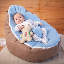 Bed-Cover Filler-Pouf Infant-Bean-Bag Baby-Chair Safety-Protection Feeding Soft for Snuggle-Bed