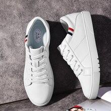 SUROM 2019 אביב חדש גברים נעליים יומיומיות לנשימה ללבוש עמיד נעלי נוח קיץ לבן עגול הבוהן תחרה עד שטוח Snekaers