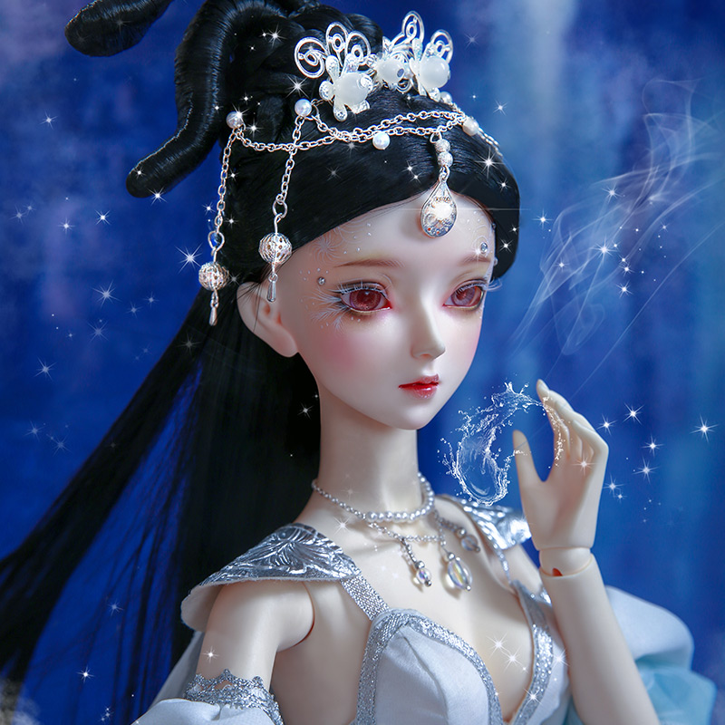 New arrival Chinese style BJD SD 1/3 AS Roselle 57cm Free Eye Balls Fashion Shop Ball Joint Doll Gift