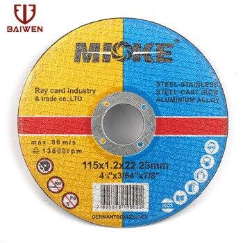 цена на 115mm 5-50Pcs Metal Stainless Steel Cutting Discs Cut Off Wheels Flap Sanding Grinding Discs Angle Grinder Wheel
