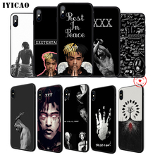 IYICAO XXXtentacion Rip Soft Phone Case for iPhone 11 Pro XR X XS Max 6 6S 7 8 Plus 5 5S SE Silicone TPU 7 Plus xxxtentacion phone cases for iphone 11 pro max x 6 7 8 plus 5 5s 6s se soft silicone xxx black case cover for iphone xs max xr