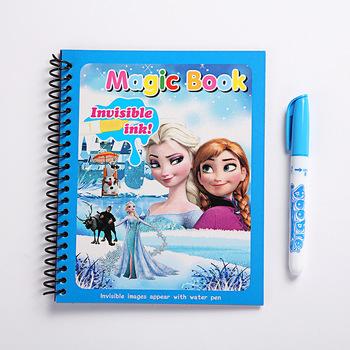 Oryginalna mrożona woda malarstwo rysunek zabawki Graffiti anime figurka akwarela magiczna książka dla dziewczyn urodziny prezenty tanie i dobre opinie Disney Model MATERNITY W wieku 0-6m 7-12m 13-24m 25-36m 4-6y 7-12y 12 + y CN (pochodzenie) Unisex no fire 19*15CM PIERWSZA EDYCJA