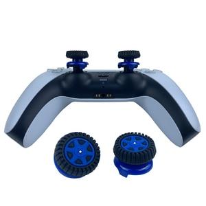 Image 2 - PS5 عصا التحكم السيطرة فبس فريك الإبهام قبضة المقود قبعات ل PS5 تحكم المقود غطاء الإطارات مصممة قبعات ل PS5/ PS4
