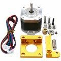 3d принтер набор MK8 Алюминиевый Экструдер комплект с 4401 шаговый двигатель 1 75 мм нити для 3d принтера RepRap