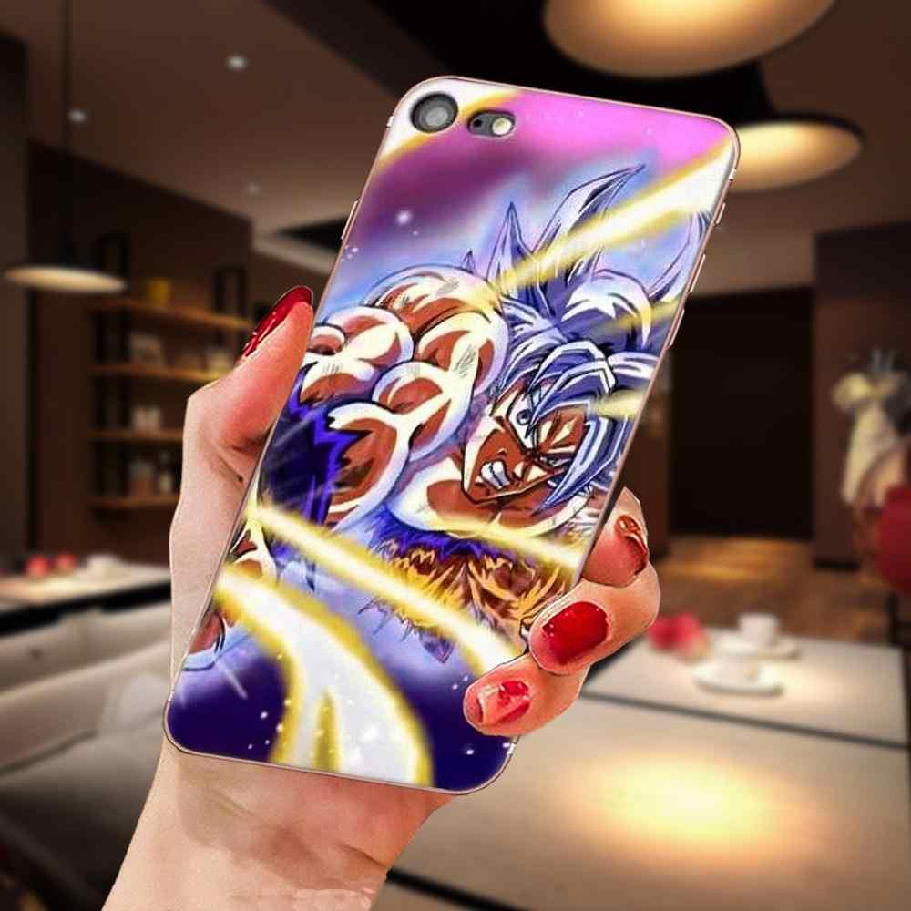 Dragon Ball Z Theme Soft TPU Print Capa For Sony Xperia Z Z1 Z2 Z3 Z4 Z5 compact Mini M2 M4 M5 T3 E3 E5 XA XA1 XZ Premium