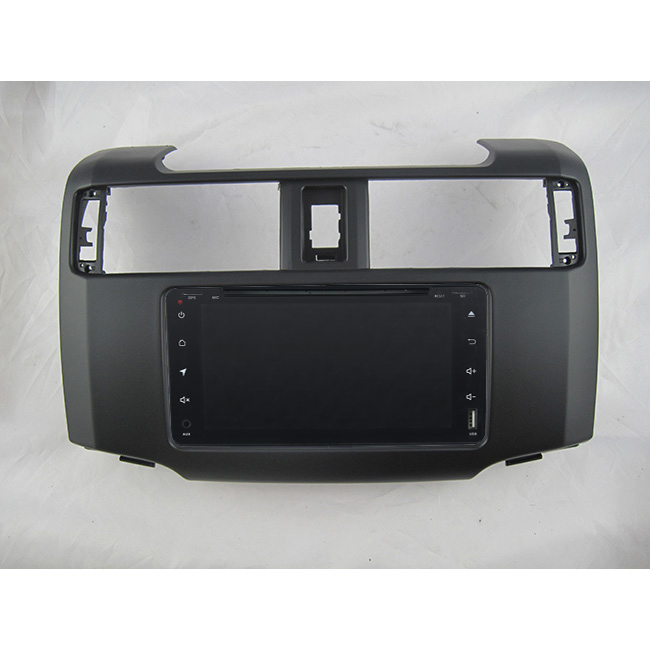 2.5D IPS HD screen car navigation Android 8.1 Google Play Bluetooth Internet for <font><b>Toyota</b></font> <font><b>4Runner</b></font> 4 Runner radio gps head unit image