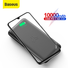Baseus 10000mAh Power Bank Qi Wireless Charge USB PD Fast Ch