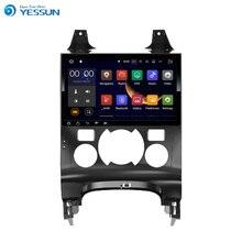 YESSUN Android Radio reproductor de coche para Peugeot 3008/5008 Radio Estéreo Multimedia GPS de navegación con WIFI Bluetooth AM/FM