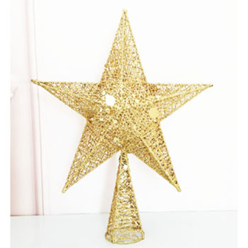 Christmas Tree Top Star Pentgram Decorations Mall Home Christmas Ornaments Christmas Tree Decoration Pendant