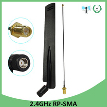 2.4GHz WiFi Antenna 8dBi Aerial RP-SMA Male Connector 2.4 ghz antena wi-fi Router +21cm PCI U.FL IPX to SMA Male Pigtail Cable 20pcs 2 4ghz wifi antenna 2dbi aerial rp sma male connector 2 4 ghz antena wi fi 21cm pci u fl ipx to sma male pigtail cable