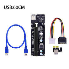 USB 3.0 PCI-E pci e Riser Express 1X 4x 8x 16x Extender Riser адаптер карта SATA 15pin Male to 6pin Power Cable +% D1% 80% D0% B0% D0% B9% D0% B7% D0% B5% D1% 80
