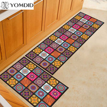 2PCS מטבח מחצלת זול יותר אנטי להחליק מודרני שטיחים באזור סלון מרפסת חדר אמבטיה שטיח סט שפשפת אמבטיה מחצלת במסדרון