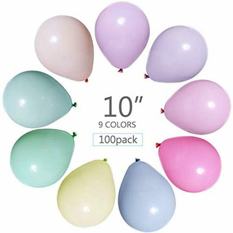 Пастельные латексные воздушные шары, 10 дюймов, 100 шт. в упаковке