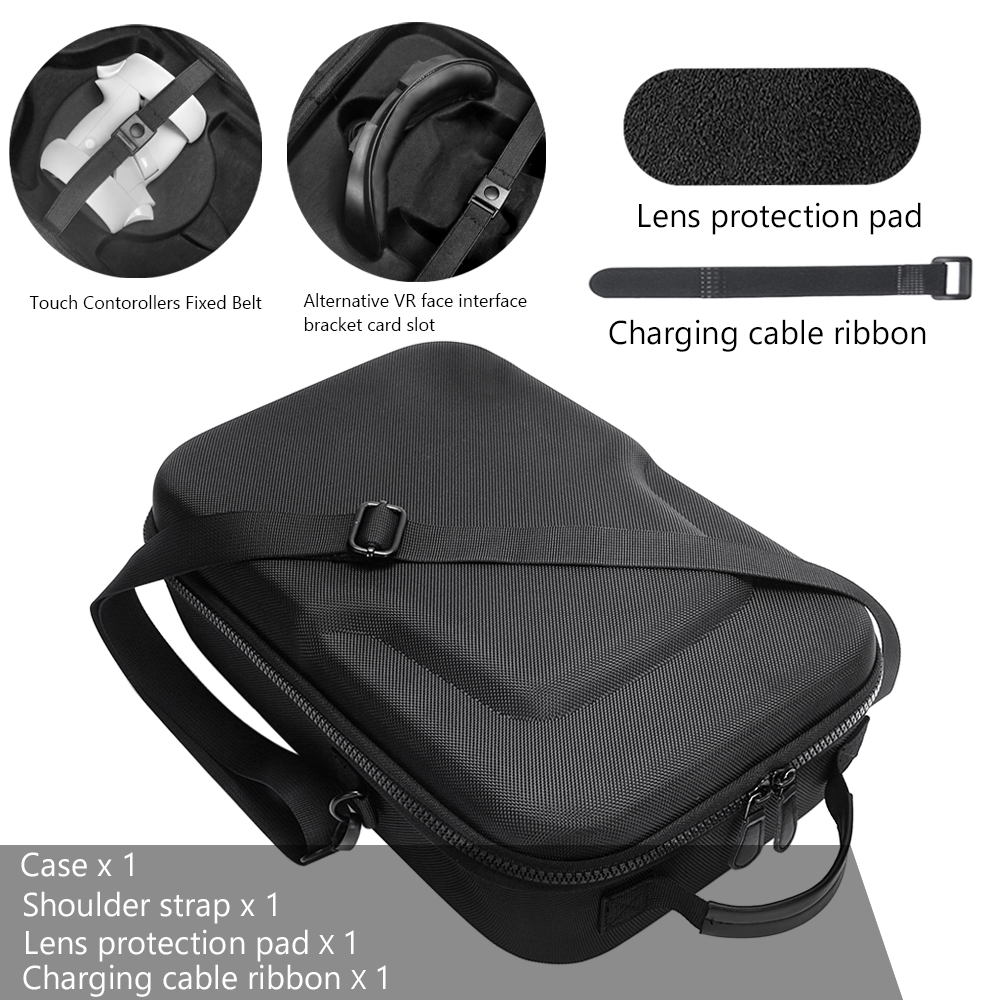 NEW Russia Hard Travelling Case Storage Case Protective Pouch Bag Carrying Case for Oculus Quest 2/Oculus Quest All-in-one VR