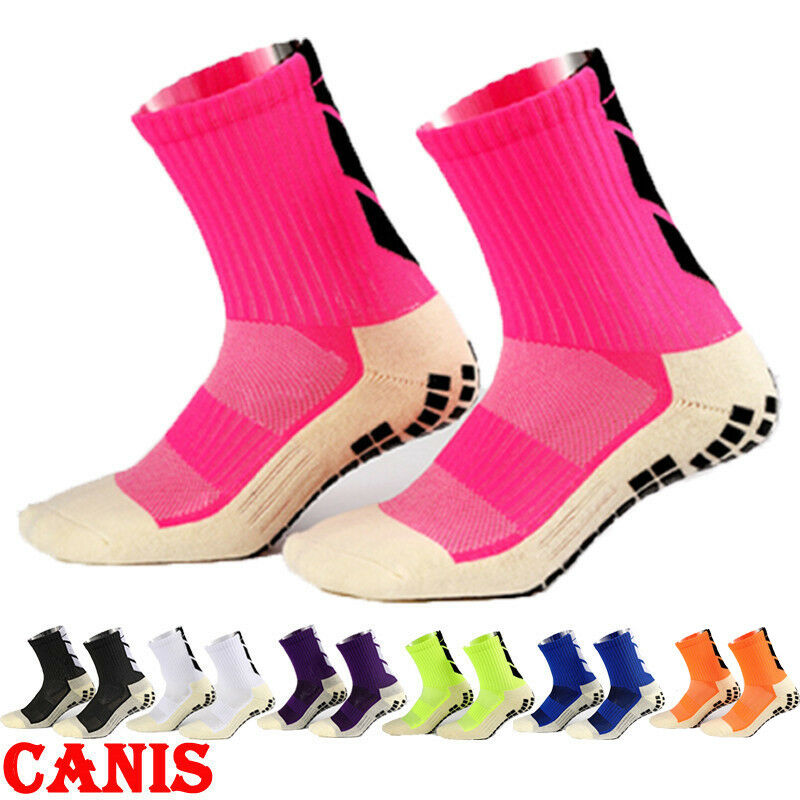 7 Colors Non-slip Football Socks Men Women Medium Thick Soccer Socks Classic Cotton Anti-friction Socks Football Socks Wholesale