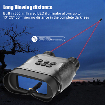 APEXEL HD Digital Night Vision Binoculars with LCD Screen Infrared (IR) camera  waterproof zoom Device For Hunting Video record 3