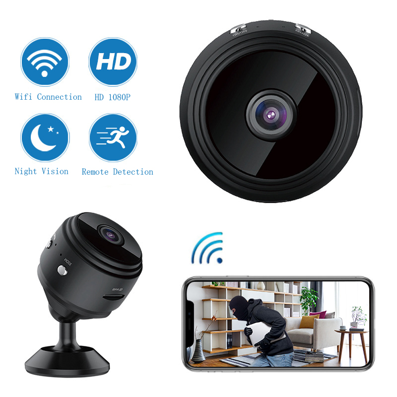 Camera WIFI 1080P HD A9 Mini IP Wireless Home Security Night Vision Motion Detect Mini Camcorder Loop Video Recorder