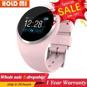 Image 1 - Q1 Bluetooth Signora Astuto Della Vigilanza di Modo Delle Donne Del Cuore Rate Monitor Fitness Tracker Smartwatch Supporto APP Per Android IOS pk Q8 q9