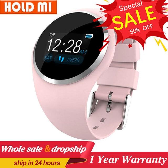Q1 Bluetooth Signora Astuto Della Vigilanza di Modo Delle Donne Del Cuore Rate Monitor Fitness Tracker Smartwatch Supporto APP Per Android IOS pk Q8 q9