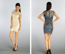 Летние Коктейльные платья бесплатная доставка платье с коротким