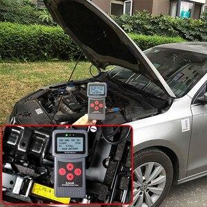 Image 5 - MICRO 200 PRO Car Battery Tester 12v 24v Multi Language Digital AGM EFB Gel Automotive Load Battery System Analyzer For Car Moto
