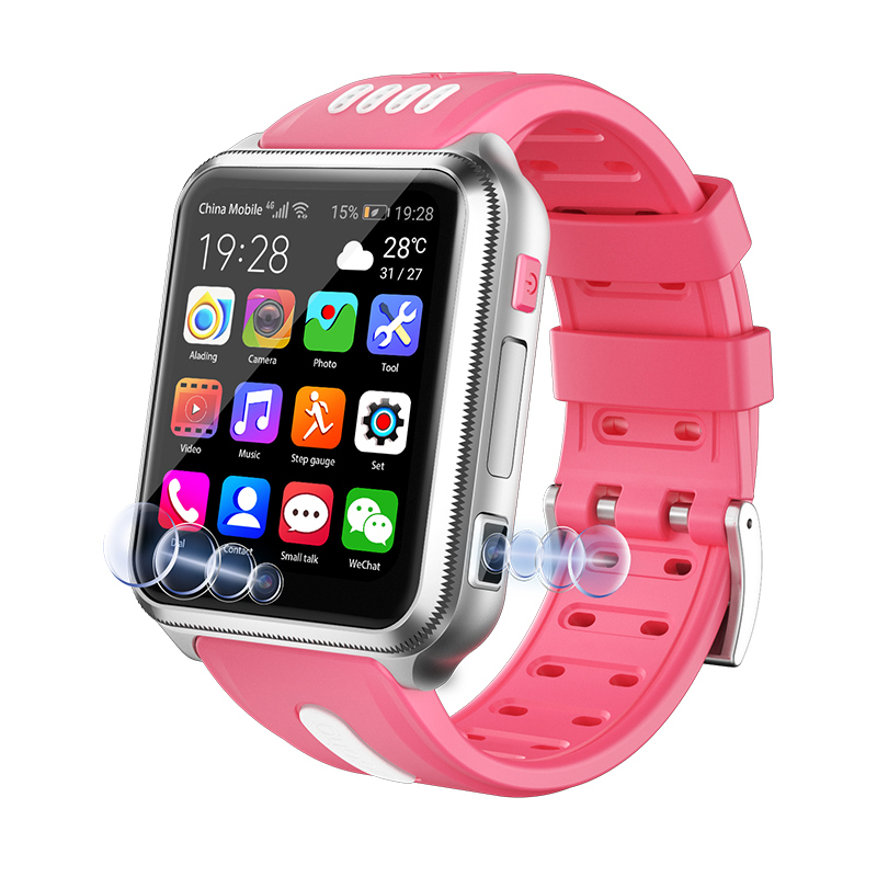 Multifunction Children Digital Wristwatch Smart Children's Phone Watch Touch Screen Dual Cameras Watch SOS Antil-lost Smartwatch