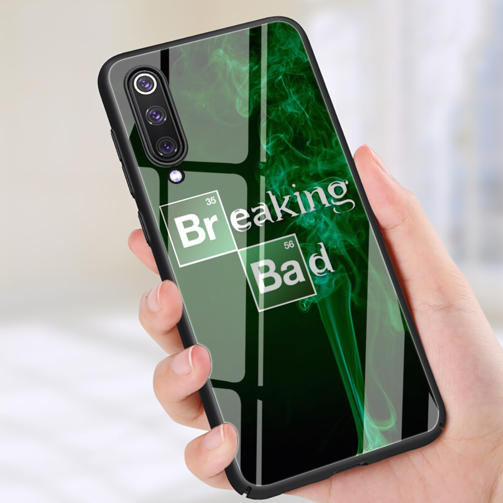 breaking-bad-tempered-glass-phone-case-for-xiaomi-5x-6x-8-lite-9-a1-a2-font-b-f1-b-font-redmi-4x-6a-note-5-6-7-pro