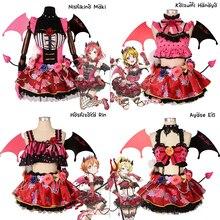 Anime Comic LoveLive! School Idol Project Cosplay Costumes Kousaka Honoka Minami Kotori Sonoda Umi Ayase Eli Women Game Costumes