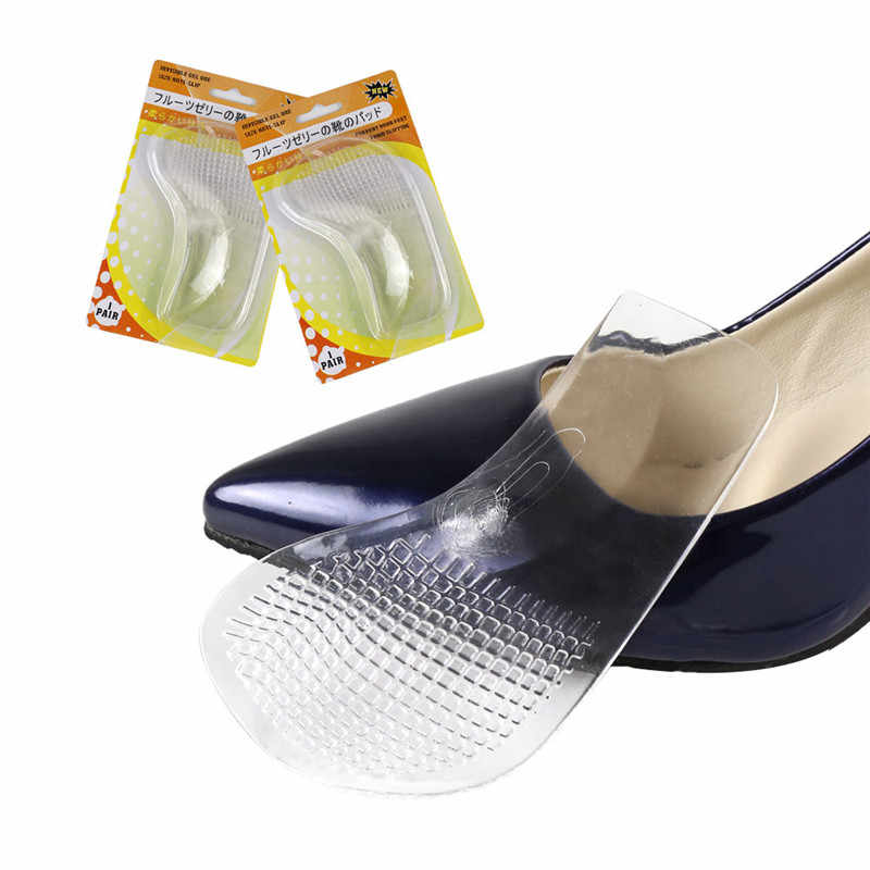 Silikon jel kemer destek pedi düz ayak ortez ortopedik tabanlık düzeltici yüksek topuk elastik ayakkabı yama ön ayak yastığı