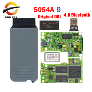 Image 1 - 2020 Top 5054A odis V5.1.6 with Best Quality 5054 Diagnostic Tool v4.0 Bluetooth 5054a OKI full chip Free shipping
