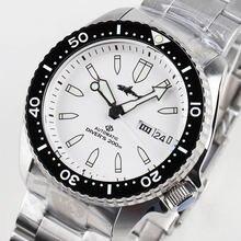 Heimdallr Мужские механические часы с сапфировым стеклом белым