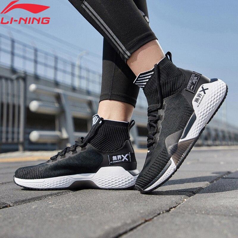 Li Ning Frauen KEINE GRENZEN Training Schuhe Kissen Mono Garn Atmungsaktive Futter Cloud Sport Schuhe Turnschuhe AFJP006 YXX049