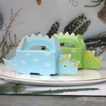 New Baby Shower Candy Box Creative Dinosaur Gift Boxes Favor Bags For Boy Girl Birthday Party