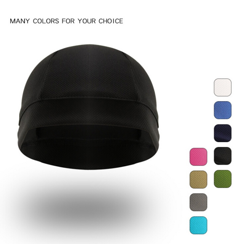 Unisex Anti-UV Anti-Sweat Sports Hat Bicycle Cycling Hat Motorcycle Bike Riding Sale Inner Cap Hot Quick Dry Helmet Cycling Cap