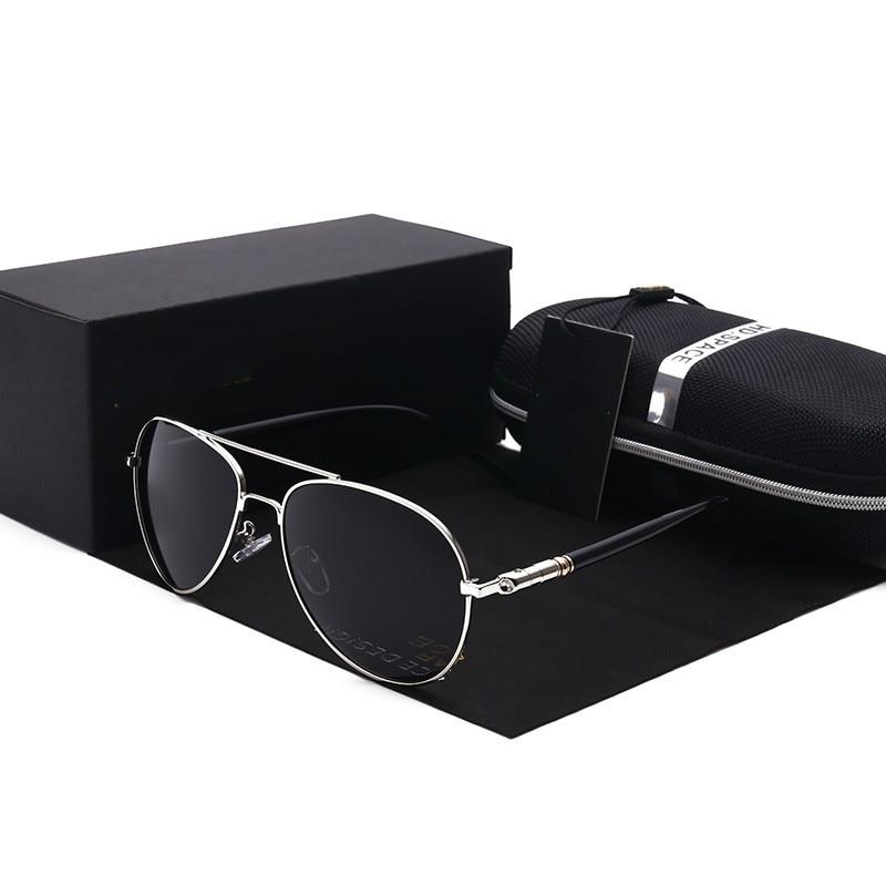New Polarized Sunglasses for Men Brand Designer Vintage Unisex goggles Sun Glasses for Driving Fishing UV400 Protected Glasses