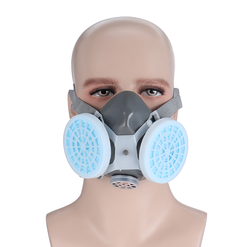 0701 Painting Dust Mask High Quality Protection Gas Mask Anti-fog Haze Industrial Dust Woodworking Polishing Mask Respirator 3