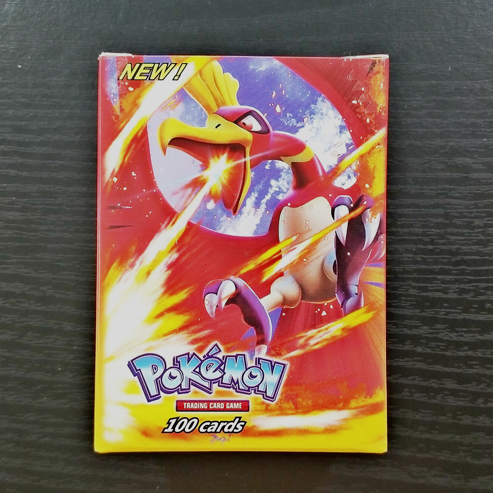 TAKARA TOMY Pokemon Cards 100pcs Flash Cards Collections Battle Shining Card Board Game Children Toys Gifts 89 GX 11 Trainer