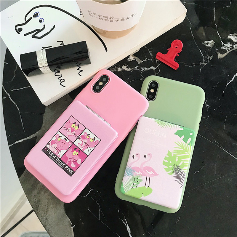 MakeUp Mirror Patterned Case For Xiaomi Redmi A1 A2 Lite Note 4 4X 5 5A 6 6A 7 7A 8 9T Prime Plus Pro S2 Y2 Y3 Cute Flip Cover