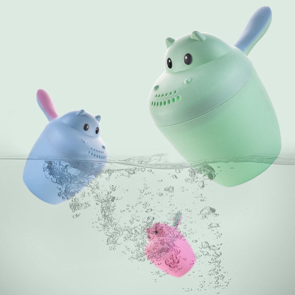 Newborn Infant Baby Bath Shampoo Cup Cartoon Durable Baby Bathing Cup Bathing Shower Spoons Kids Bath Tool