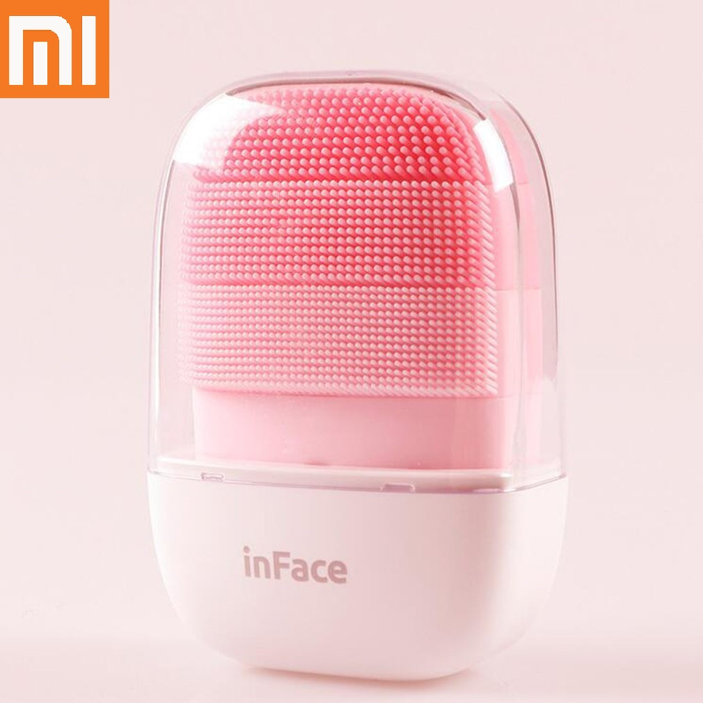 Xiaomi InFace Smart Sonic Clean Electric Deep Facial Cleaning Massage Brush Wash Face Care Cleaner Rechargeable 2020dropshipping