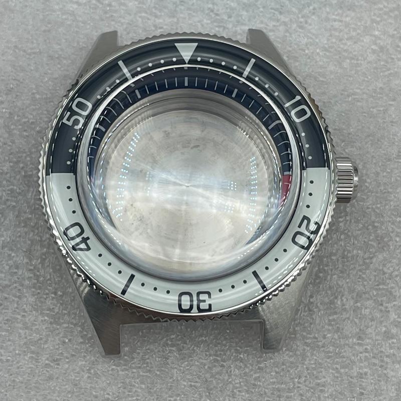 relógio safira cristal bolha espelho inserção luminosa
