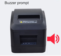 NEW Arrival!Cheap!JEPOD XP A160M 80mm Thermal receipt printer with auto cutter Buzzer usb / lan port for Supermarkets, malls