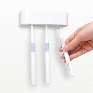 Image 2 - Xiaomi mijia HL ensemble de salle de bain 5 en 1 pour boîte de rangement à crochet à dents de savon et support pour téléphone pour salle de bain outil de salle de douche