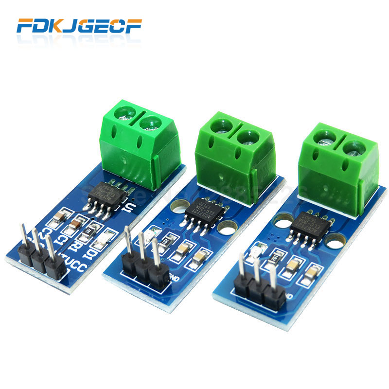1PCS NEW 5A 20A 30A Hall Current Sensor Module ACS712 Model For Arduino