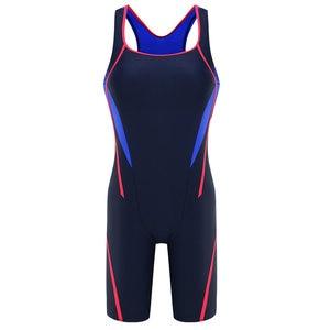 Image 3 - Riseado Sport Racing One Piece Swimsuit Women Competition Swimwear Boyleg Racerback Swimming Suits for Women Bathing Suits